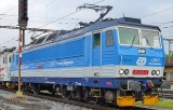 Electric locomotive class 163-026 Gabrysia liased to Polish company Przewozy Regionane
